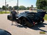 Batmobile in Muskeegon Michigan