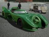 Batmobile Police Car