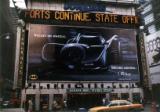 Onstar batmobile wall poster