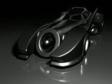 3D Batmobile Rendering