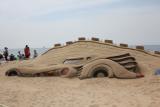 1989 Batmobile Sand Sculpture