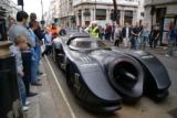 1989 Batmobile on Gumball in London 2010