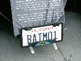Batmobile in Carmel California
