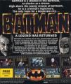 Batman the movie game cover for Amiga