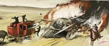 Batmobile Train