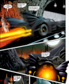 1989 Batmobile in Wideninig Gyre comic book