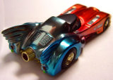 Rainbow Batmobile