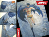 Bat Girl jeans