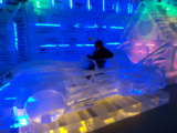 Ice Sculpture of 1989 Batmobile