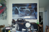 Shagg's scratch built 1989 Batmobile