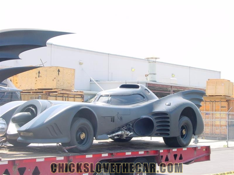 1989 Batmobile on trailer